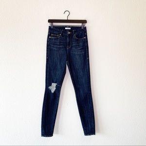 ▪️Good American▪️Good Legs Ripped Skinny Jeans